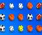 Yetenek Oyunları » Spor Topları: Play ile oyun başlıyor. Ortada karışık olarak duran topları mouse ile seçerek üçerli hale getiriyoruz. Üç olan toplar kayboluyor. Bu şekilde oynuyoruz ...